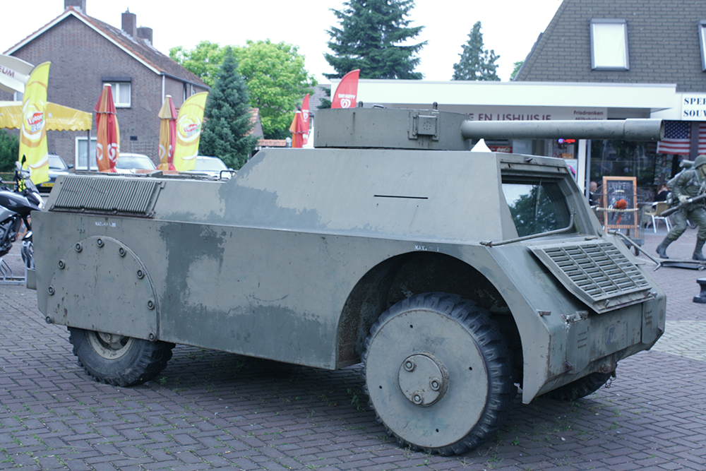 Oude tank in revisie